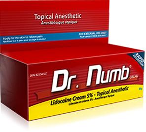 Dr Numb Lidocaine Cream Splat Products